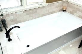 kohler k 1946 la 0 alcove bath with integral a archer x soaking bathtub ideas tub
