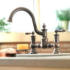 showy moen oil rubbed bronze kitchen faucets two handle high arc kitchen faucet wrought regarding excellent