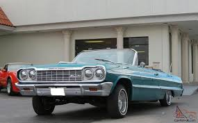 Stunning 1964 Impala Ragtop Convertible Dayton Wheels Hydraulics ...