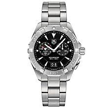 tag heuer watches quality swiss watches ernest jones watches tag heuer aquaracer men s stainless steel bracelet watch product number 4264452