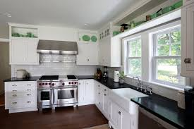 Black N White Kitchens Futuristic White And Black Kitchen Wallpaper O 9080 Homedessigncom