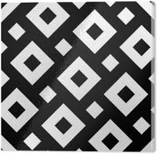 pillow texture seamless. Vector Modern Seamless Geometry Pattern Squares, Black And White Abstract Geometric Background, Pillow Print Texture