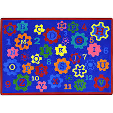 geared for learning children s area rug