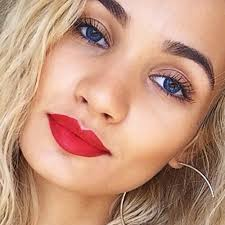 she has made songs with chris brown and tyga which are good she s friends with kylie jenner so you will see a lot of similarities in their makeup