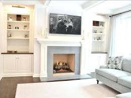 family room built in cabinet ideas the family room built ins feature cherry counters and honed blue marble fireplace