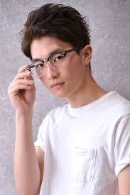 2019年夏メガネに似合う髪型メンズショートヘア10選メンズカットショート