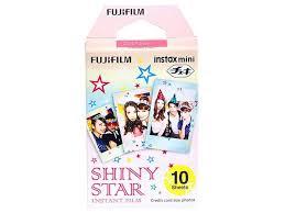 Carga <b>FUJIFILM Colorfilm</b> Instax Mini <b>Shiny Star</b> (10 folhas ...