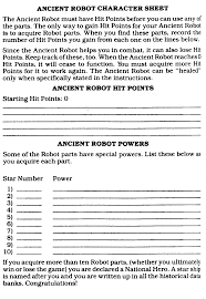 hero forge character sheet series 1 on 1 adventure gamebooks demians gamebook web page