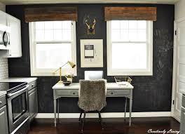 office chalkboard. Kitchen Office Area --Chalkboard Wall, Rustic Chalkboard