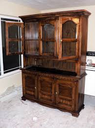 hutch kitchen furniture. How To: Paint Furniture - Before Hutch Kitchen