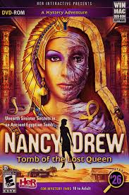 Nancy Drew: Tomb of the Lost Queen has you assume the role of Nancy Drew and uncover the lost secrets buried within the Tomb of the Lost Queen. - 2228359-cover