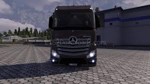 Ets Light Mercedes Mercedes Benz Actros Mp4 V4 Euro Truck Simulator 2 Mods