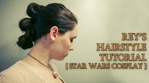 Rey Hair Style reys hairstyle tutorial star wars the force awakens cosplay 5993 by stevesalt.us