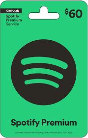 Spotify $60 Gift Card – Gmdukan