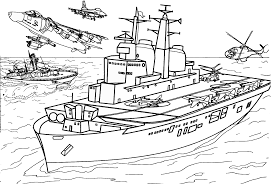 Small Picture Army Coloring Pages