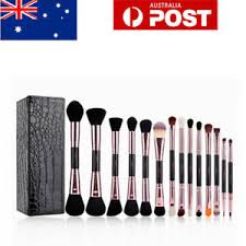 image is loading pro 14pcs duo brow brushes double sided makeup