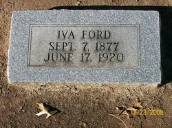 Iva A Ford (1877-1920) - Find A Grave Memorial