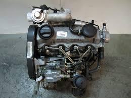 MOTOR SEAT IBIZA 1.9 TDI AÑO 2001 ASV 81KW | Desguaces Fuentes