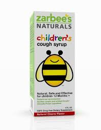 Zarbees Naturals Childrens Cough Syrup Cherry Flavor 4