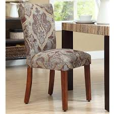 elegant living room dining chairs paisley parson set of 2 home décor furniture