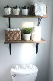 Bathroom Shelf Ideas Unique Storage Ideas For A Small Bathroom To