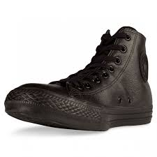 converse all star high leather