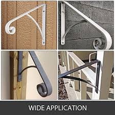 If your staircase doesn't have a handrail, installing one takes just a few basic tools. Lovshare Handrail Railing Post Mount Step Grab Rail For Wall Mounted 1 To 2 Steps Solid Hand Rail Stairs Pricepulse