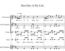 best orff arrangements ideas orff activities orff arrangement for best day of my life