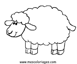 Small Picture Sheep coloring pages