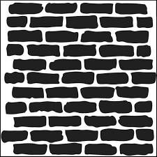tcw stencil 6x6 mini bricks