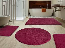 inspirational decorating ideas with red bathroom rugs the new way home decor