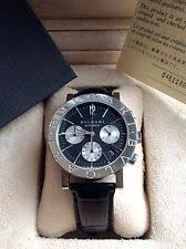 bvlgari watch men bulgari bvlgari watch timepiece bb38slch steel automatic chronograph mens unisex