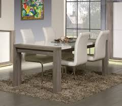 contemporary oak dining tables uk. otahi truffle oak and gloss white colour. contemporary rectangular dining table with extension tables uk
