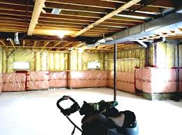 Basement Unfinished Ceiling Ideas Prepossessing Basement Bedroom