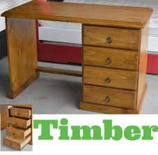 timber office furniture. BANKSIA ASSEMBLED TIMBER STUDENT OFFICE DESK 117cm IN BLACKWOOD Timber Office Furniture