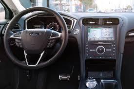 2018 ford hybrid cars. unique cars 2018 ford fusion hybrid titanium sedan dashboard shown inside ford hybrid cars f