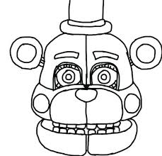 Spring Bonnie Coloring Pages