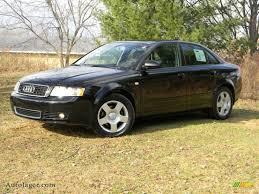 audi a4 2004 black. brilliant black ebony audi a4 18t quattro sedan 2004 5