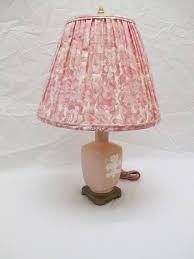 Prop Title: Pink & White Ceramic Lamp Prop Model#: Q 022. Details: 21