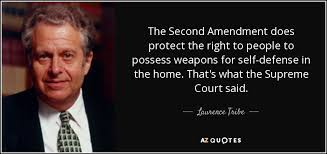 2nd Amendment Quotes Awesome Laurence Tribe Quote The Second Amendment Does Protect The Right To
