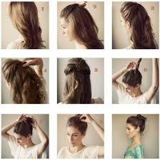 Photo Tuto Coiffure Simple Cheveux Mi Long Coiffure Cheveux