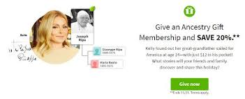 make their holidays more meaningful with an ancestry gift membership get a head start on