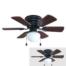 flush mount ceiling fans hunter louden 46in brushed nickel flush mount indoor ceiling fan