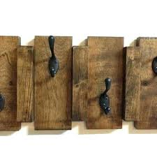 Coat Rack On Wall Delectable Coat Rack Wall Rustic Coat Rack Wall Mounted Rustic Wood Wall Mount