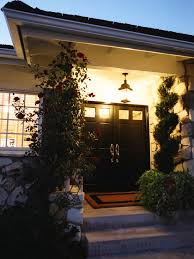 black double front doors. Classic Double Front Doors For Homes: Traditional Entry With Black Homes