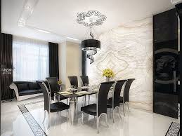 modern house interior dining room. Contemporary House Modern Dining Room Wall Art Inside House Interior