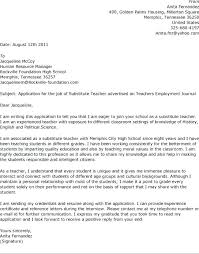 Art Teacher Cover Letter Examples Need Help With Anything