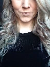 Grey Ash Blonde Red Hair Weird