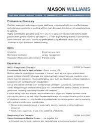 Respiratory Therapist Resume Amazing Best Nicu Respiratory Therapist Resumes ResumeHelp