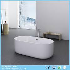 hot seamless clear acrylic bathtub with fiberglass reinforced from hangzhou factory lt 701